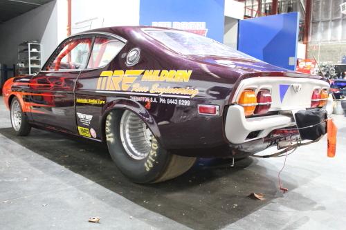 mazda rx4 drag car 8 99 secs